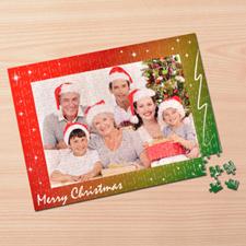 Puzzle personnalisé Joyeux Noël 30,48 x 41,91 cm