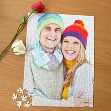 Puzzle portrait personnalisé 285 ou 54 pièces 30,48 x 41,91 cm