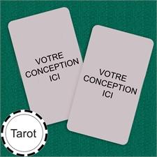 Cartes format Tarot personnalisées (cartes vierges)
