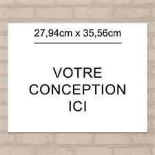 Affiche photo imprimée image unique 27,94 x 35,56 cm paysage