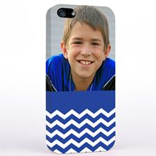 Blue Chevron Photo iPhone 5