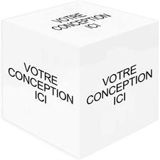 Cube photo imprimez votre conception, 5 panneaux