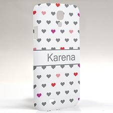 Custom Design Colorful Hearts Samsung Phone Case
