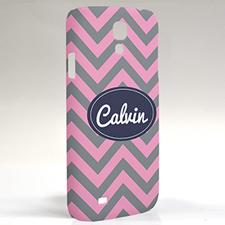 Custom Design Grey Carol Chevron Samsung Phone Case