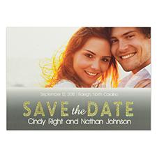 Cartes réservez la date personnalisées parfait ensemble