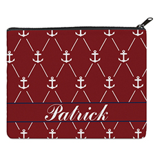 Print Your Own Red White Anchor Bag (8 X 10 Inch)