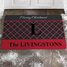 Créez votre propre paillasson bienvenue à joyeux Noël