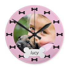 Horloge acrylique personnalisée mon meilleur ami impression personnalisée