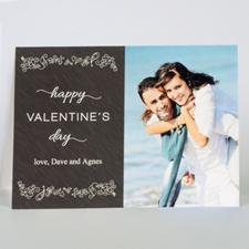 Carte photo Saint-Valentin personnalisée impression personnalisée amour à toi
