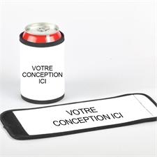 Enveloppe de cannette et de bouteille premium votre conception ici