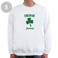 Créez votre propre sweat-shirt blanc, irlandais