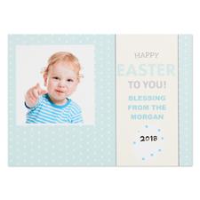Créez votre propre carte photo personnalisée Joyeuse Pâques à toi 12,7 x 17,78 cm