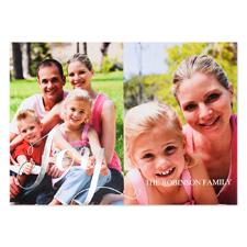Créez vos propres cartes d'invitation photo personnalisées feuille d'argent bonheur deux collage