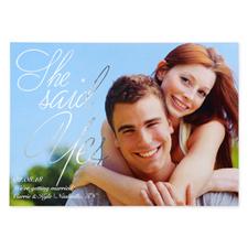Créez vos propres cartes d'invitation annonce de mariage personnalisées feuille d'argent peinte