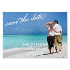 Créez vos propres cartes d'invitation réservez la date pour mariage personnalisées ornement feuille d'argent