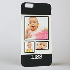 Black Frame Personalized Photo iPhone 6 + Case