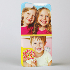 Yellow Two Collage Photo Personalized iPhone6 Case