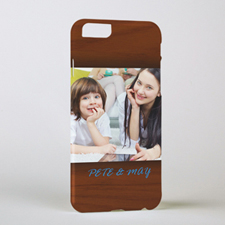 Framed In Wood Personalized Photo iPhone 6 Case