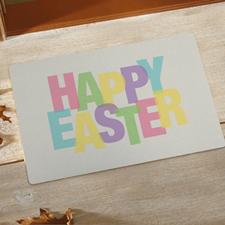 Paillasson personnalisé Joyeuses Pâques