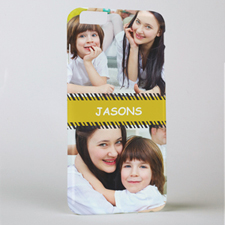 Stripes Personalized Photo iPhone 6+ Phone Case