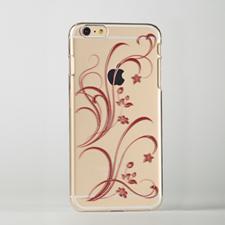 Floral Custom Raised 3D iPhone 6 Plus Case