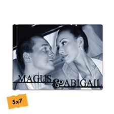 Créez votre album photo mariage couverture rigide 12,7 x 17,78 cm