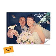 Créez votre album photo mariage couverture souple 12,7 x 17,78 cm