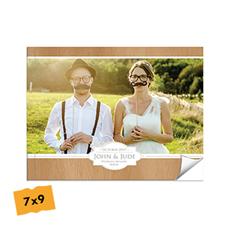 Créez votre album photo mariage couverture souple 17,78 x 22,86 cm