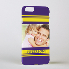 Stripe Personalized Photo iPhone 6 Case