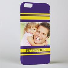 Stripe Personalized Photo iPhone 6+ Phone Case