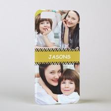 Stripes Two Collage Photo iPhone 6 Case