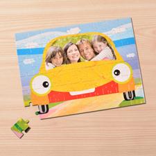 Puzzle photo personnalisé Ma Voiture 30,48 x 41,91 cm