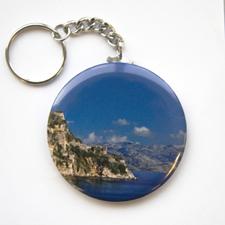 Porte-clé bouton personnalisé photographie