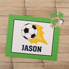 Puzzle pour enfants personnalisé foot