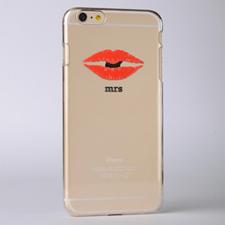 Kiss Custom Raised 3D iPhone 6 Case