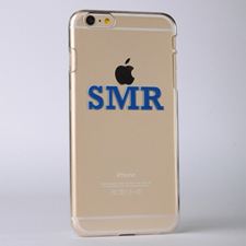 Monogrammed Raised 3D iPhone 5 Case