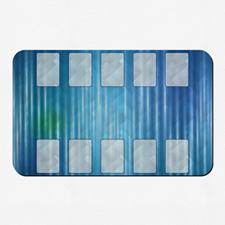 Tapis de jeu oeuvre personnalisée 40,64 x 25,4 cm