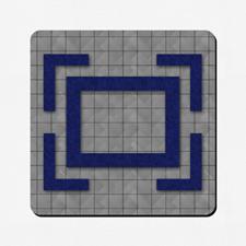 Tapis de jeu conception personnalisée 45,72 x 45,72 cm