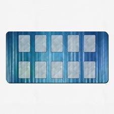 Tapis de jeu impression personnalisée pleines couleurs 35,56 x 71,12 cm