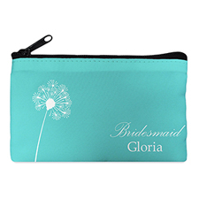 Floral Personalized Cosmetic Bag