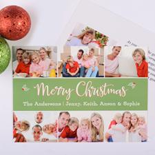 Carte photo personnalisée saint Noël