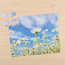 Puzzle photo personnalisé 20,32 x 25,4 cm 12 ou 50 ou 100 pièces