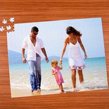 Puzzle photo personnalisé 70 ou 252 ou 500 pièces 45,72 x 60,96 cm
