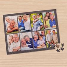 Puzzle photo gris foncé 8 collage 30,48 x 41,91 cm