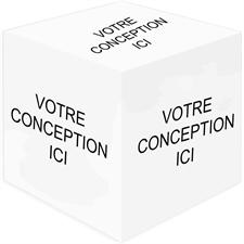 Concevez votre propre cube photo en bois, 6 panneaux