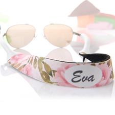 Sangle de lunettes de soleil personnalisée floral aquarelle
