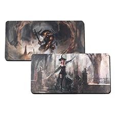 Tapis de jeu en caoutchouc impression personnalisée, 2 côtés 35,56 x 71,12 cm