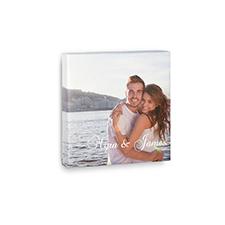 Impression photo sur toile personnalisée 15,24 x 15,24 cm
