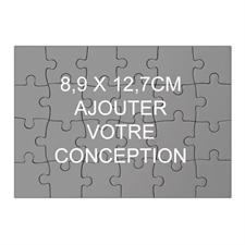 Mini puzzle en bois 8,89 x 12,7 cm (paysage, 24 pièces)