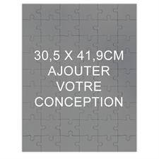 Livre d'or puzzle en bois 30,48 x 41,91 cm (paysage, 24 ou 54 ou 285 pièces)